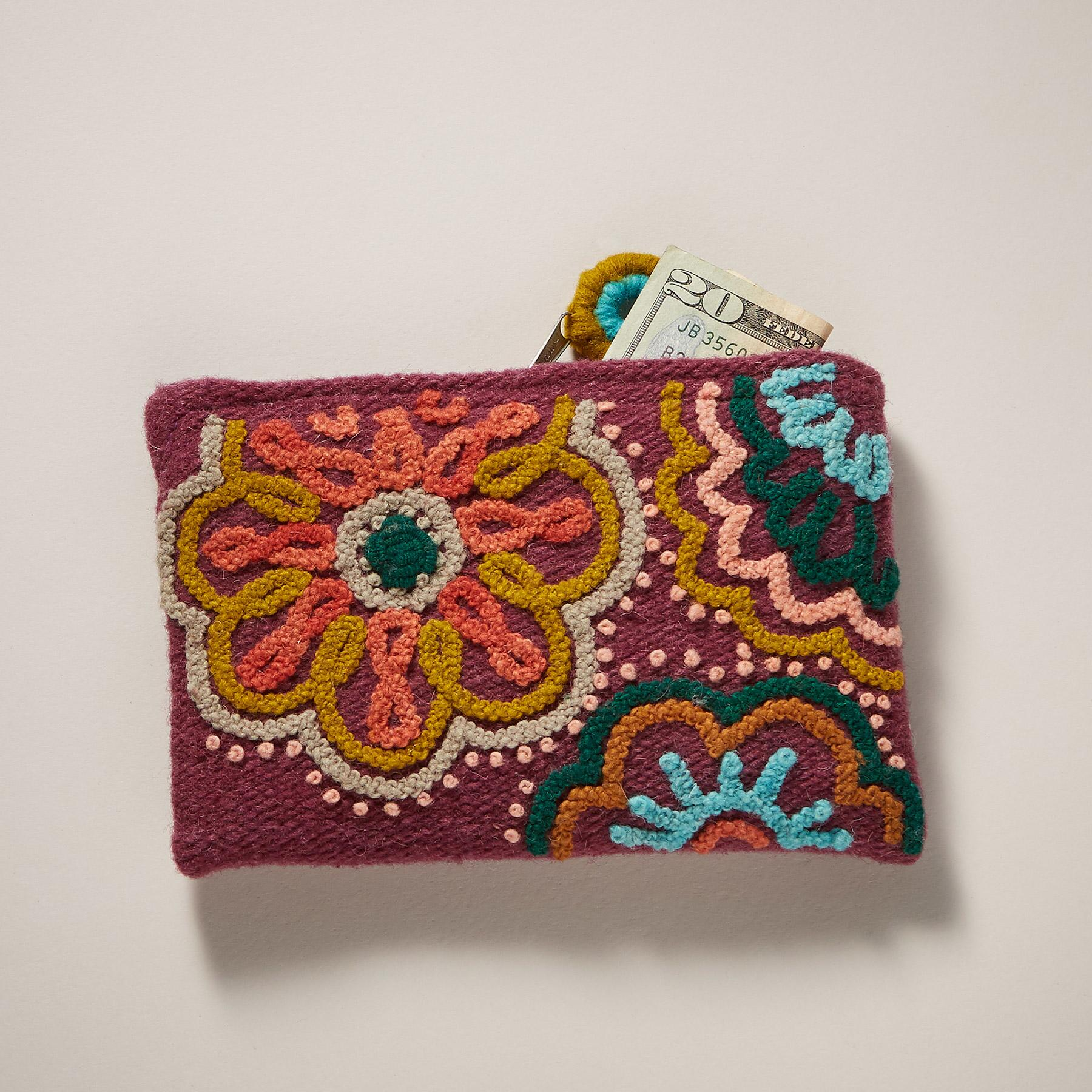 RAJA BLOSSOM POUCH: View 1
