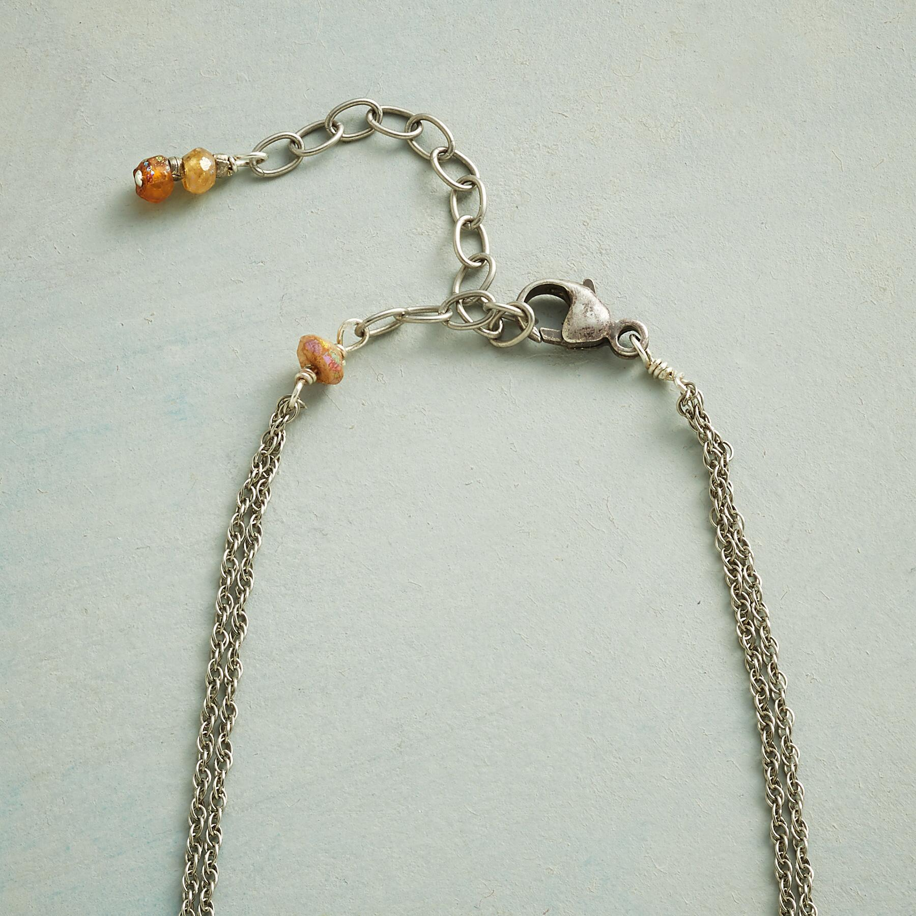 SUNSTONE BRIQUETTE NECKLACE: View 3
