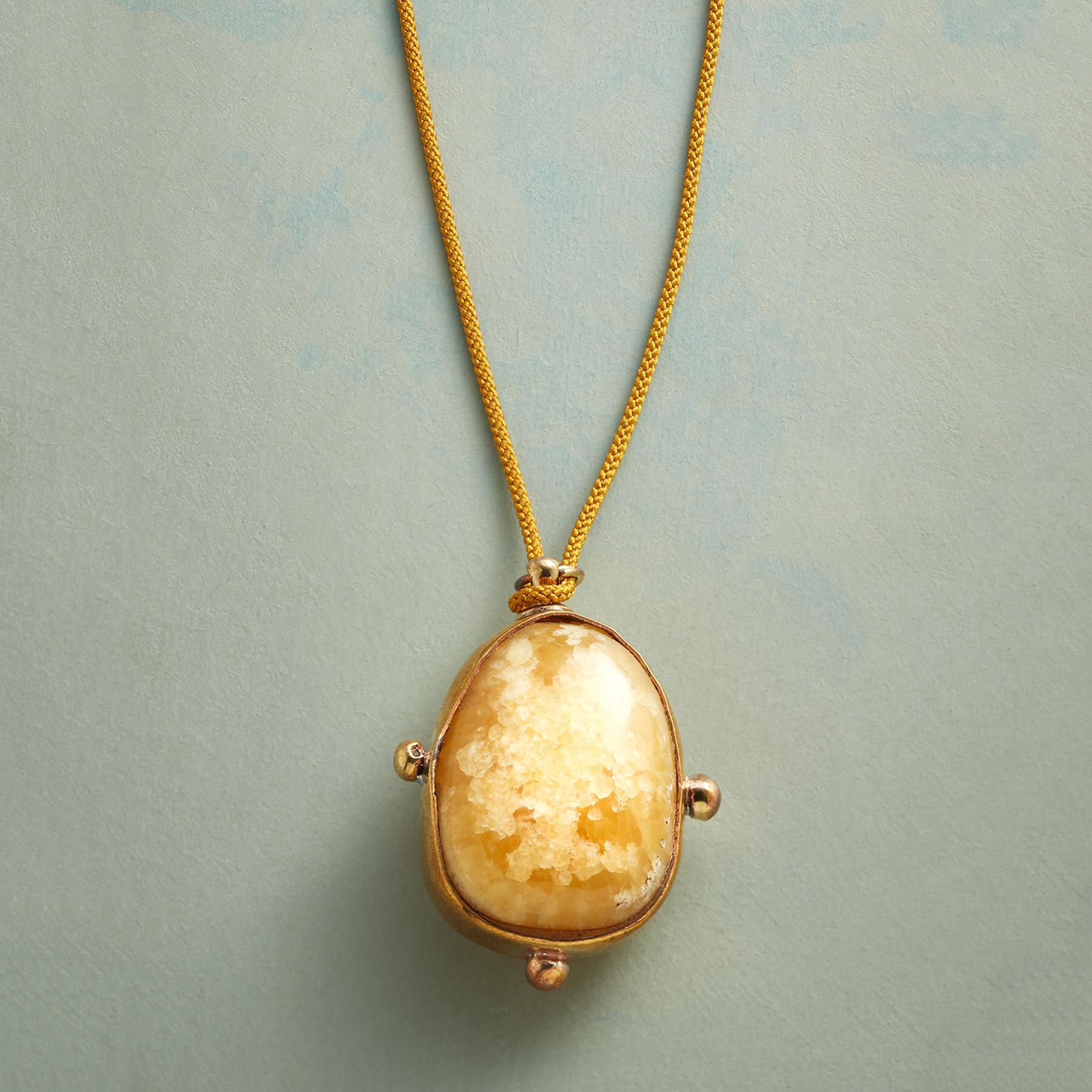 CALCITE NECKLACE: View 1