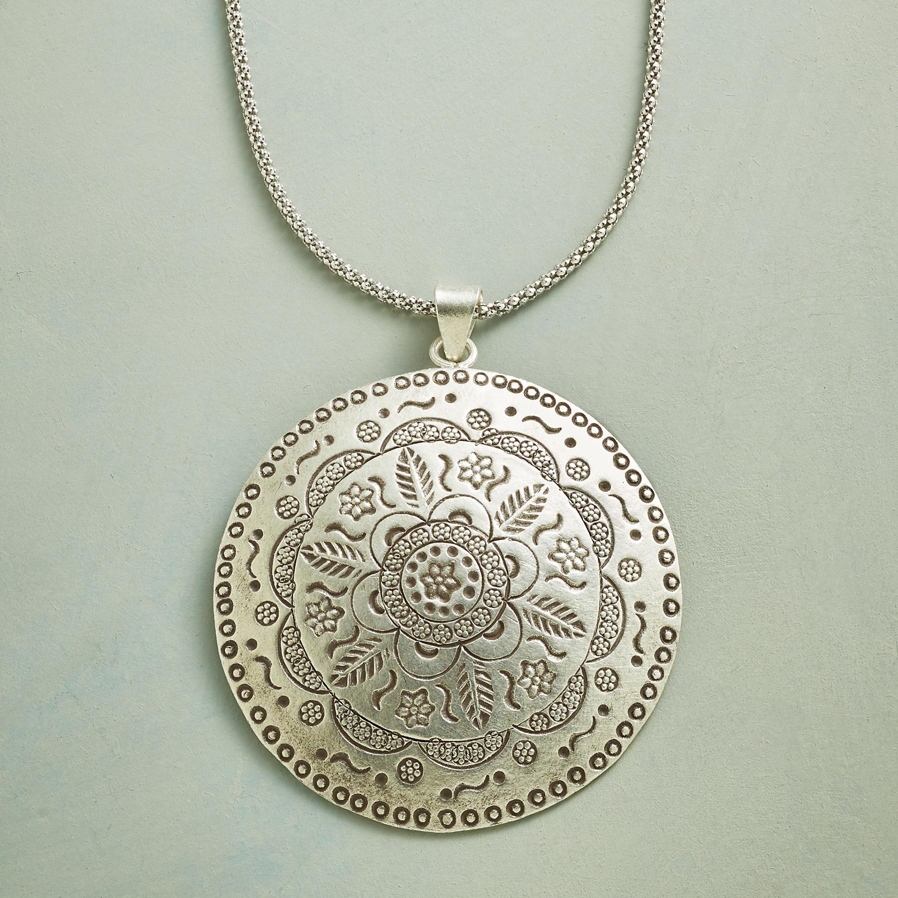 MAYA MEDALLION NECKLACE: View 1