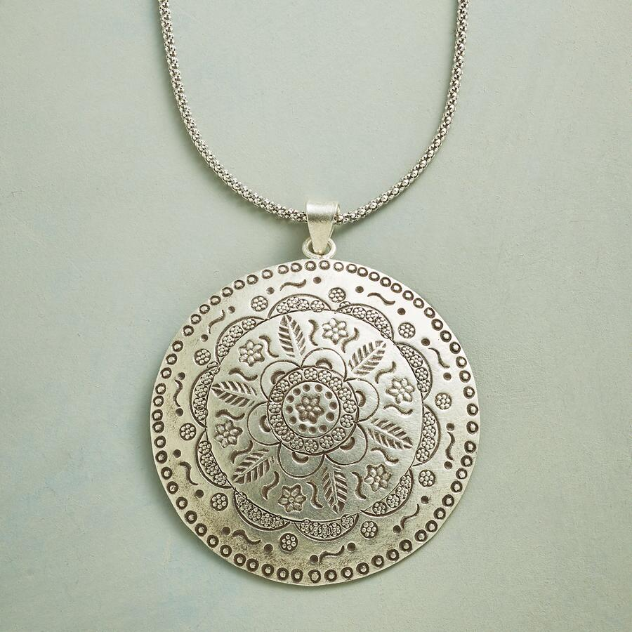 MAYA MEDALLION NECKLACE