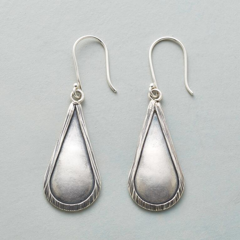 Sterling Raindrop Earrings View 1