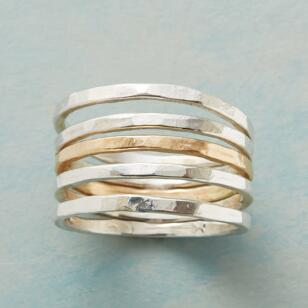 GOOD HARMONY RINGS, SET OF 5