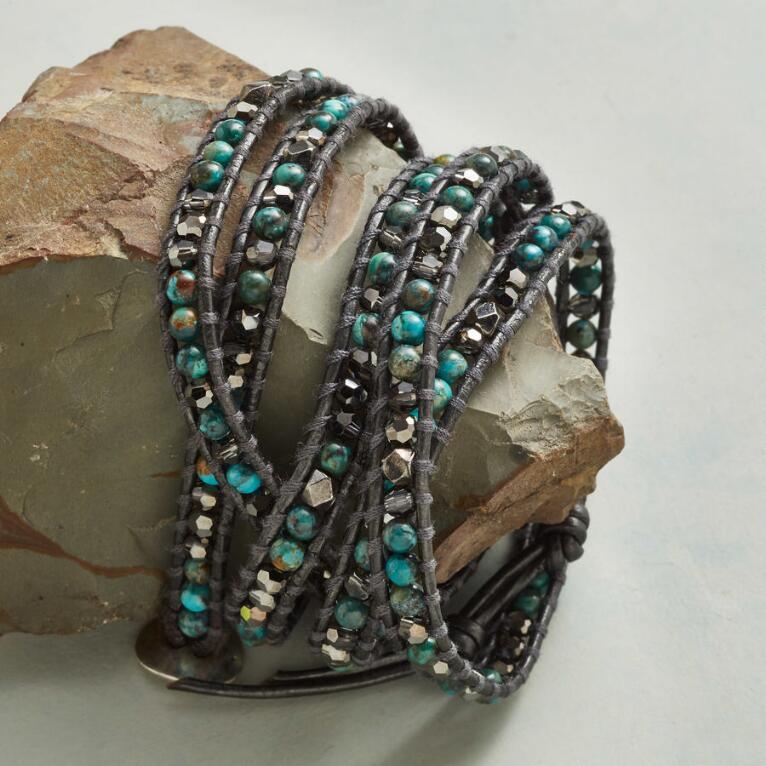 Chan Luu Swarovski Crystal Turquoise Bracelet Robert Redford S Sundance Catalog