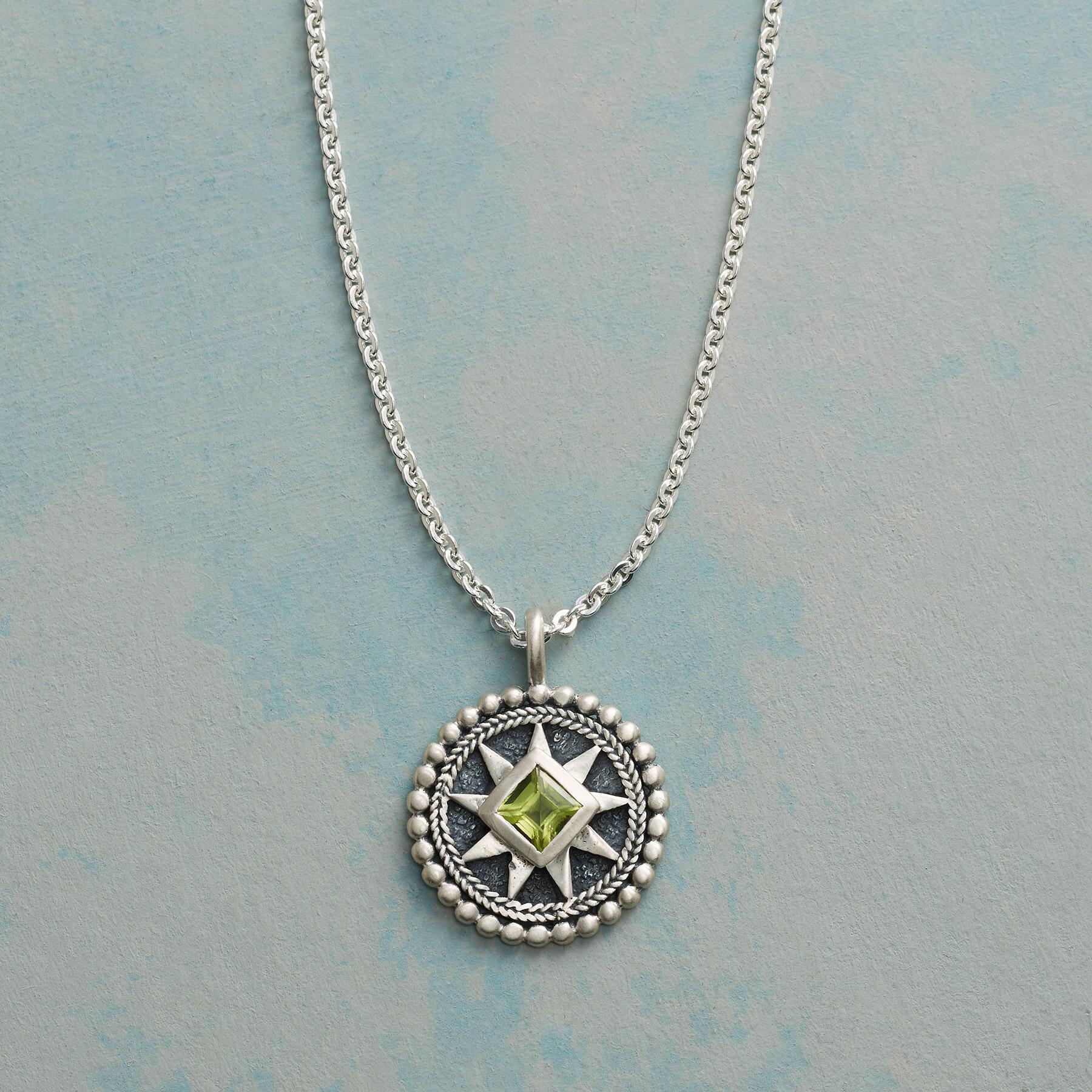BRIGHT STAR BIRTHSTONE NECKLACE: View 1