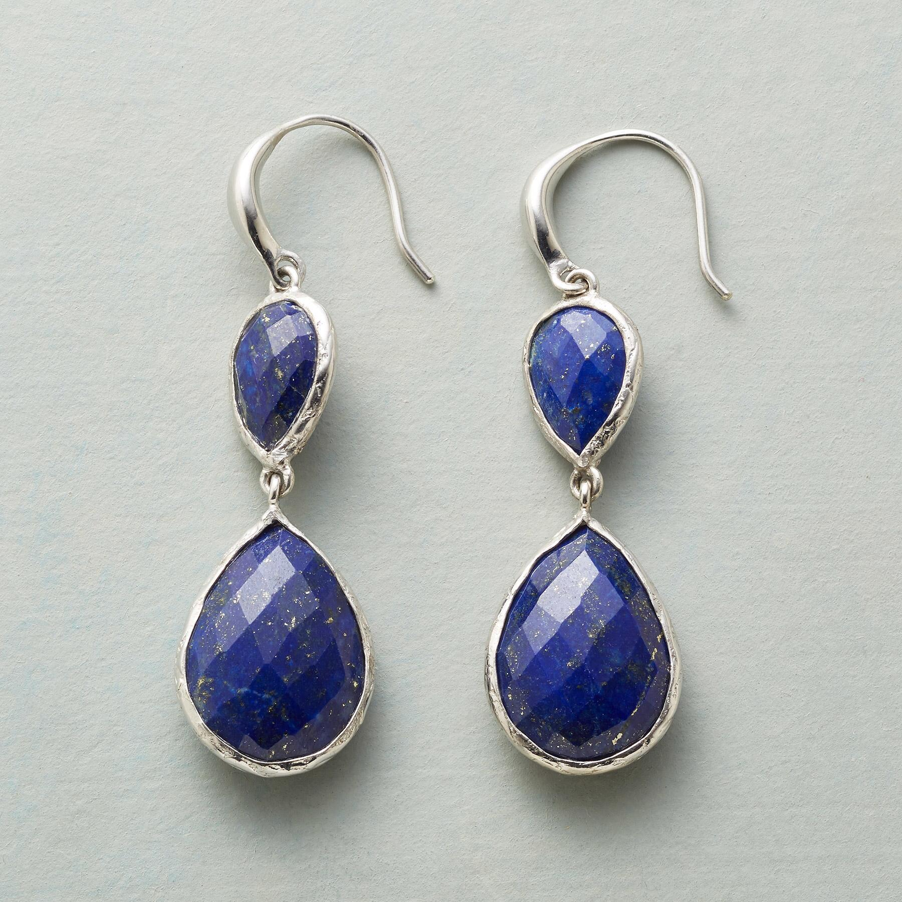 TWICE AS BLUE EARRINGS: View 1