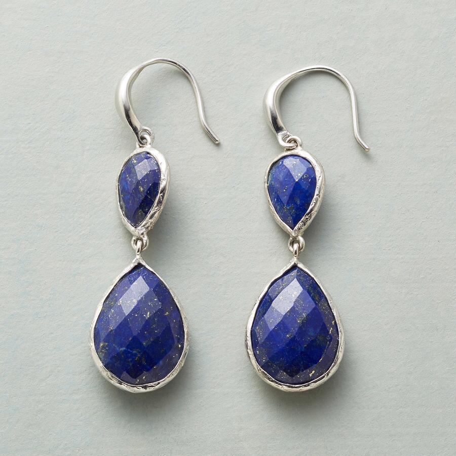 TWICE AS BLUE EARRINGS