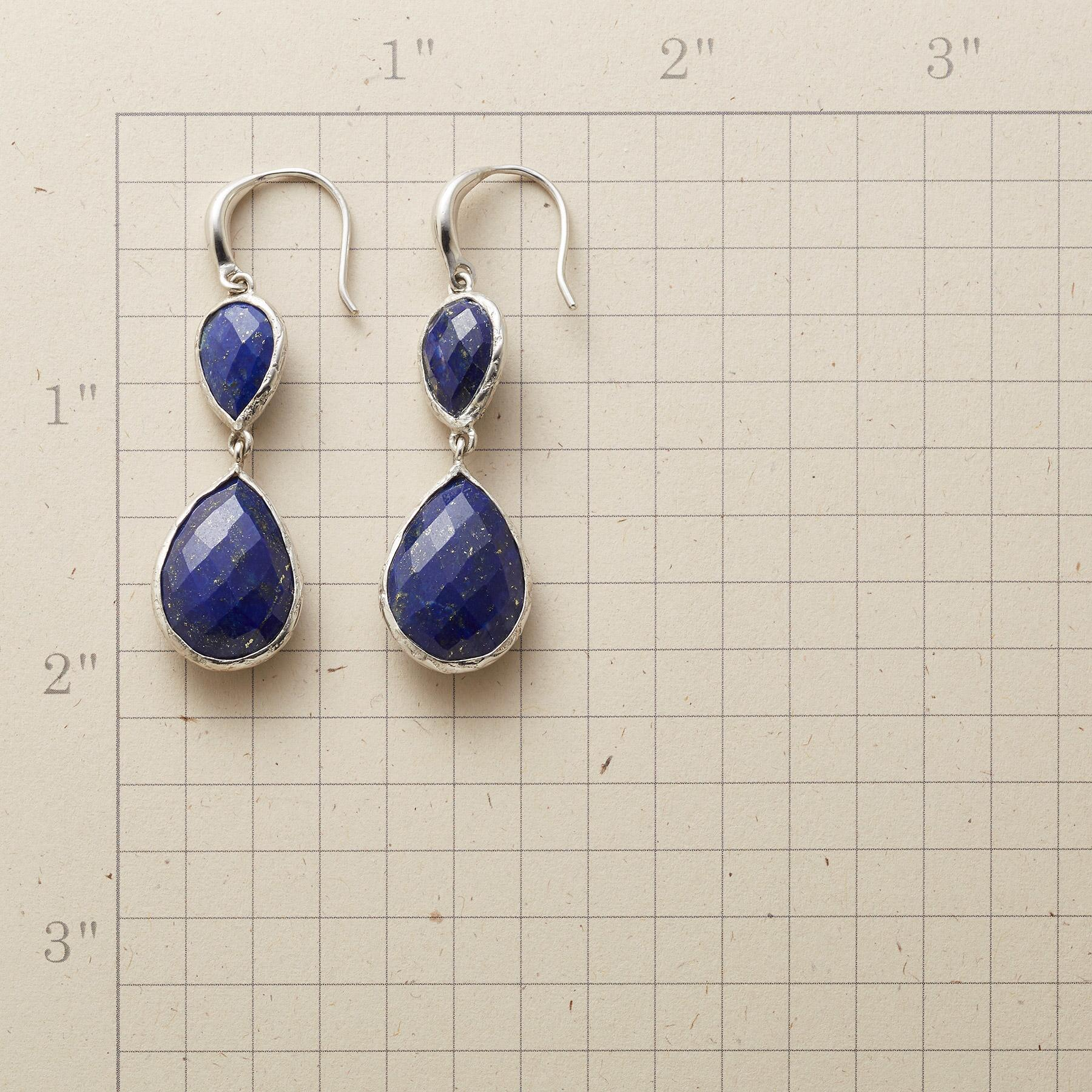 TWICE AS BLUE EARRINGS: View 2