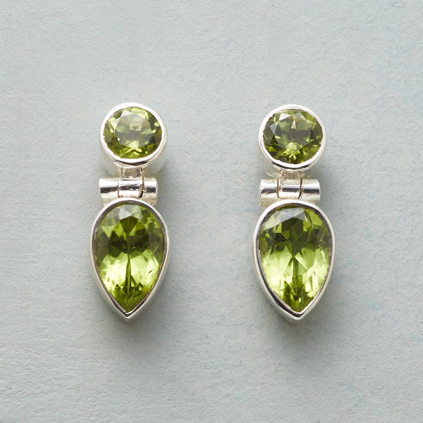 GREENERY EARRINGS: View 1
