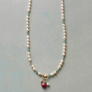 MOONLIGHT AND ROSES NECKLACE