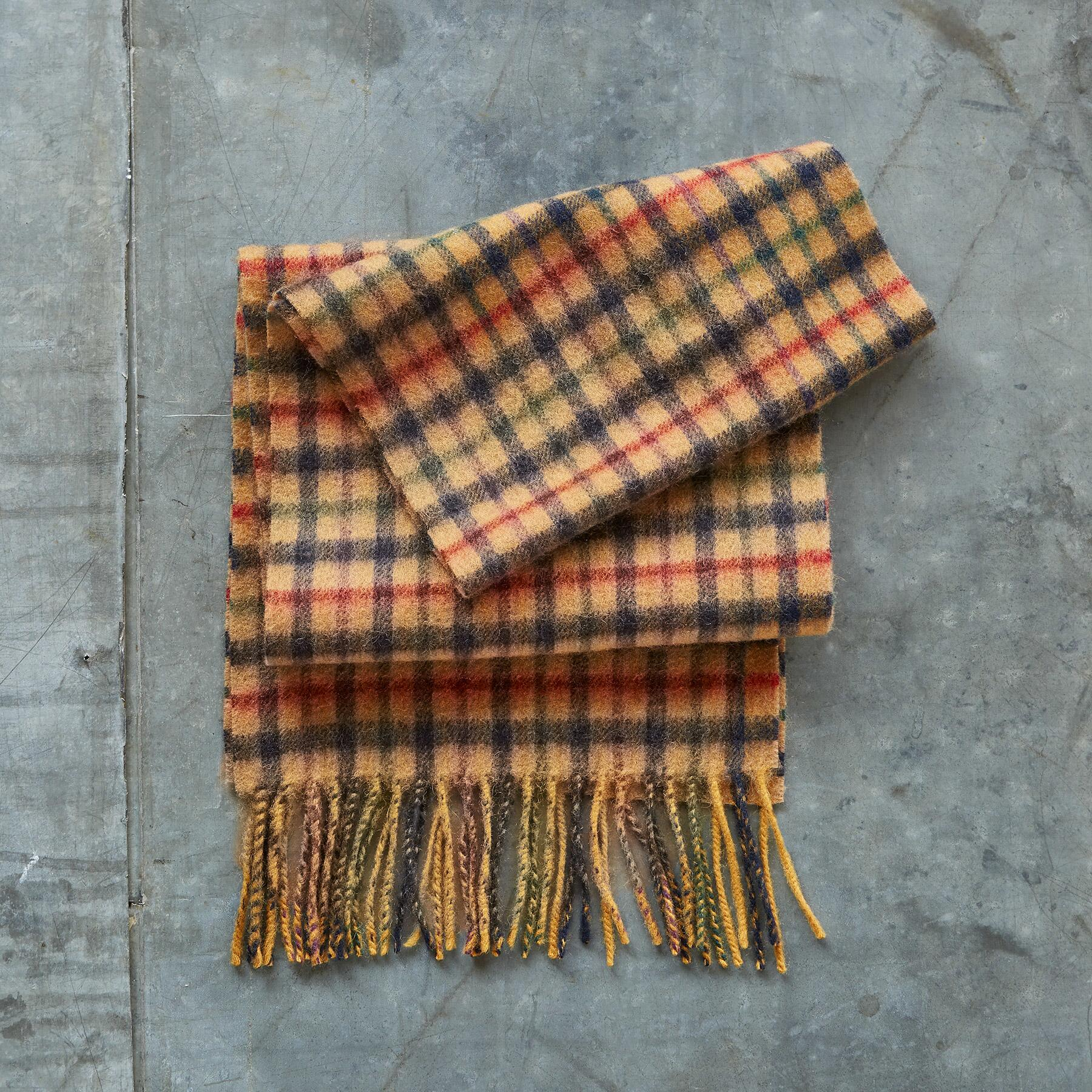 CALUM SCARF - WHISKEY: View 2