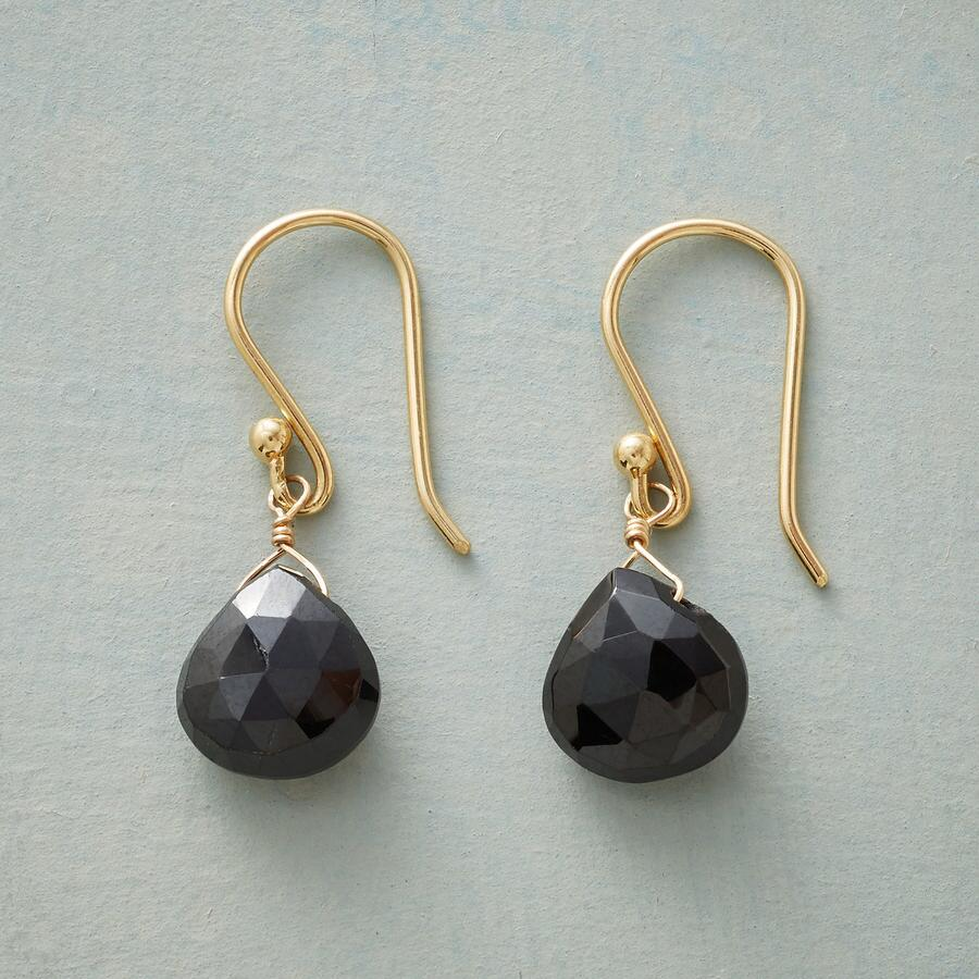 LITTLE BLACK EARRINGS