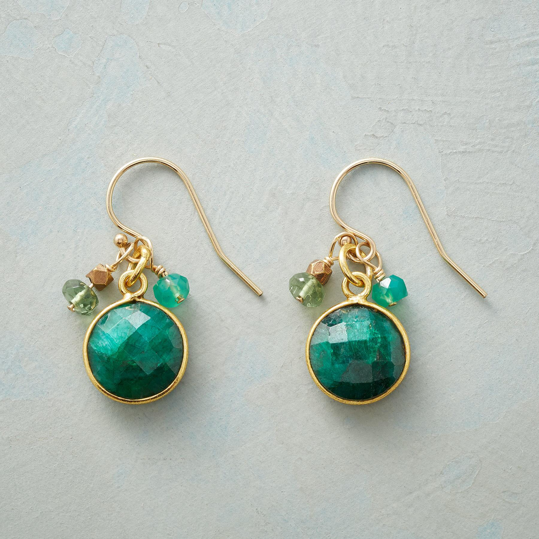 GREEN MANSIONS EARRINGS: View 1