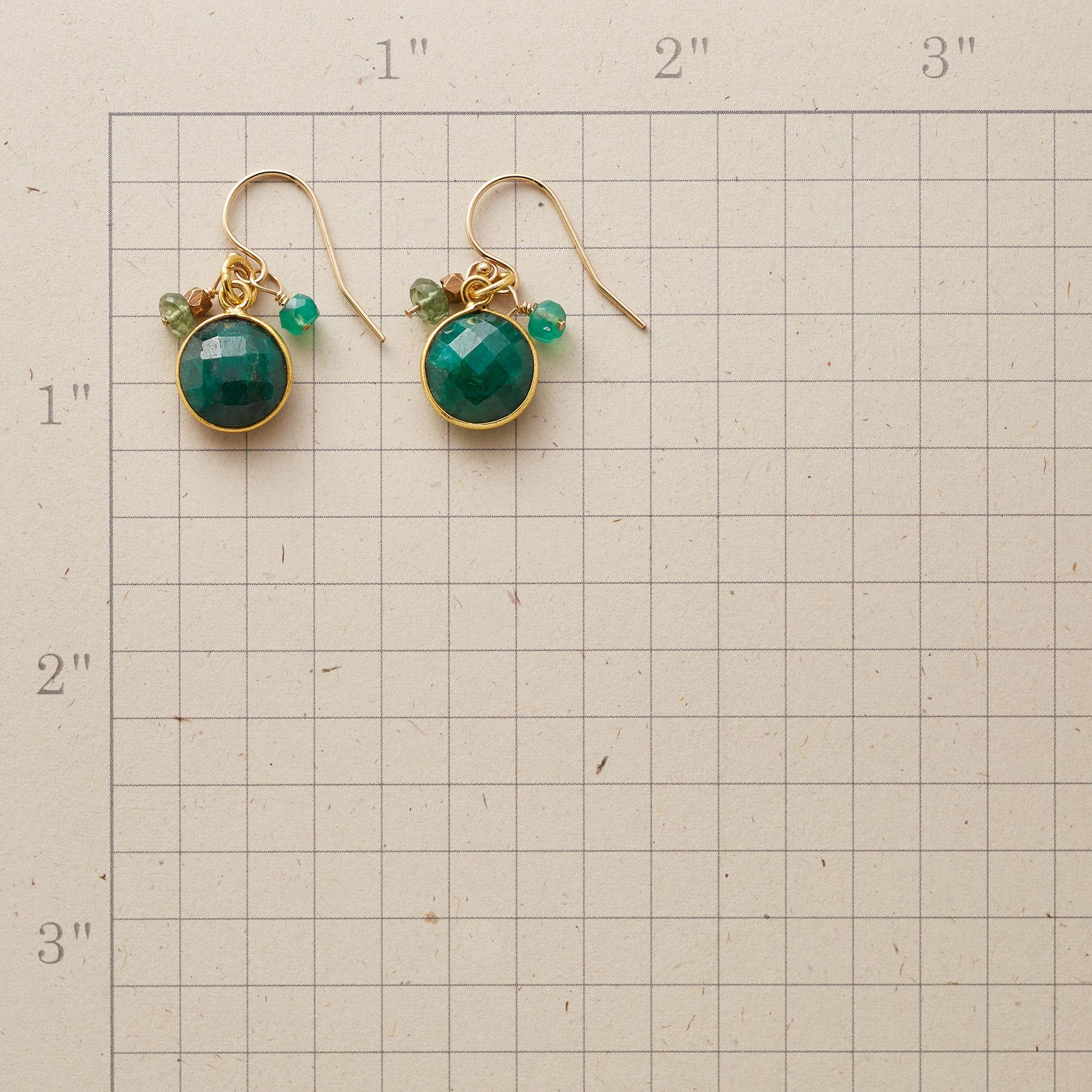 GREEN MANSIONS EARRINGS: View 2