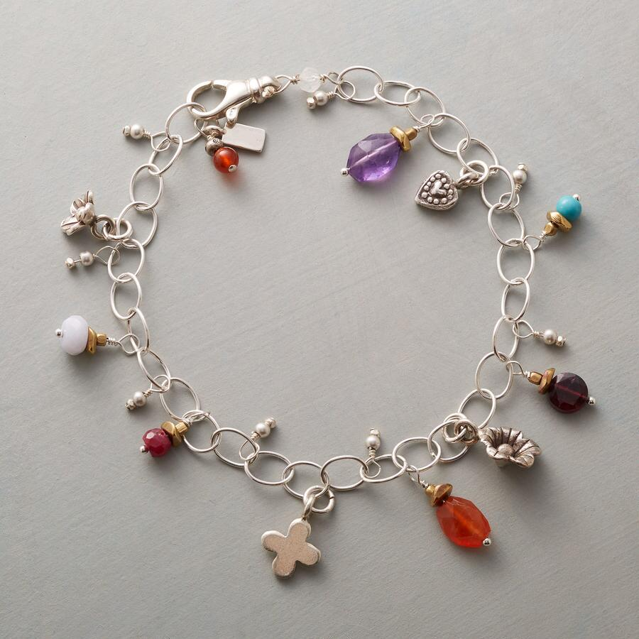 CIRCLE OF CHARMS BRACELET