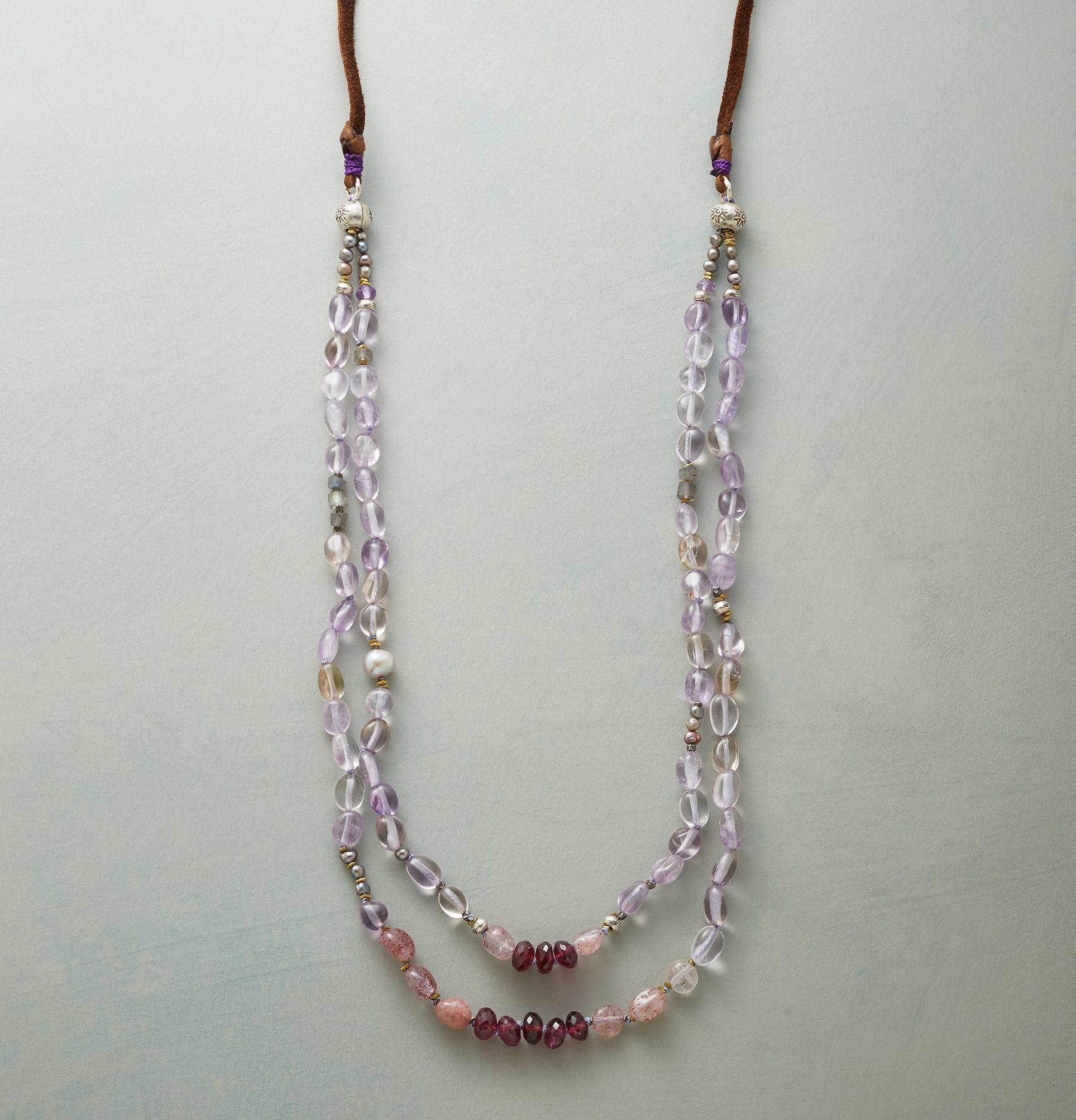 TASSEL TIPPED NECKLACE: View 1
