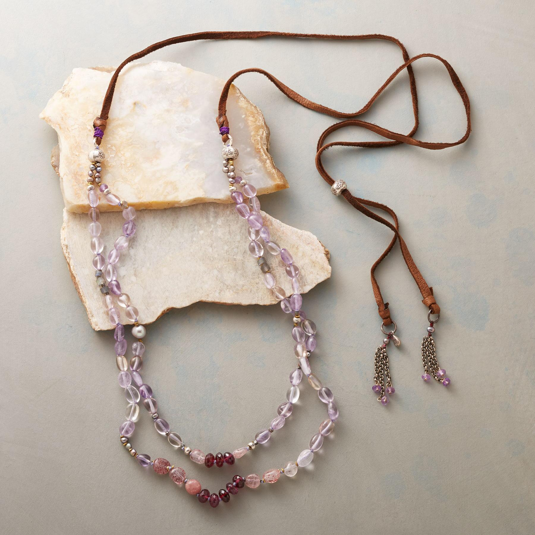 TASSEL TIPPED NECKLACE: View 2