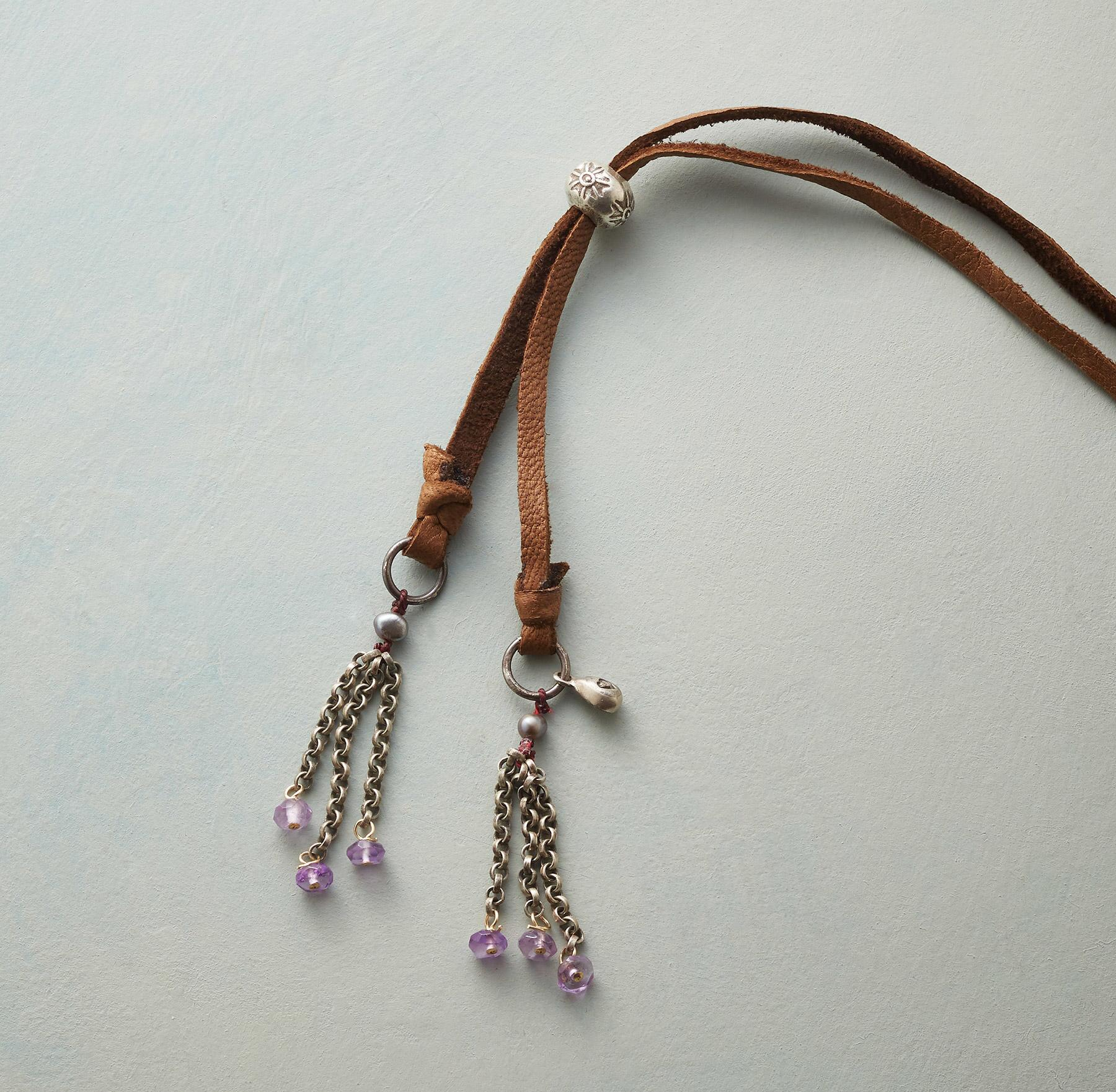 TASSEL TIPPED NECKLACE: View 3