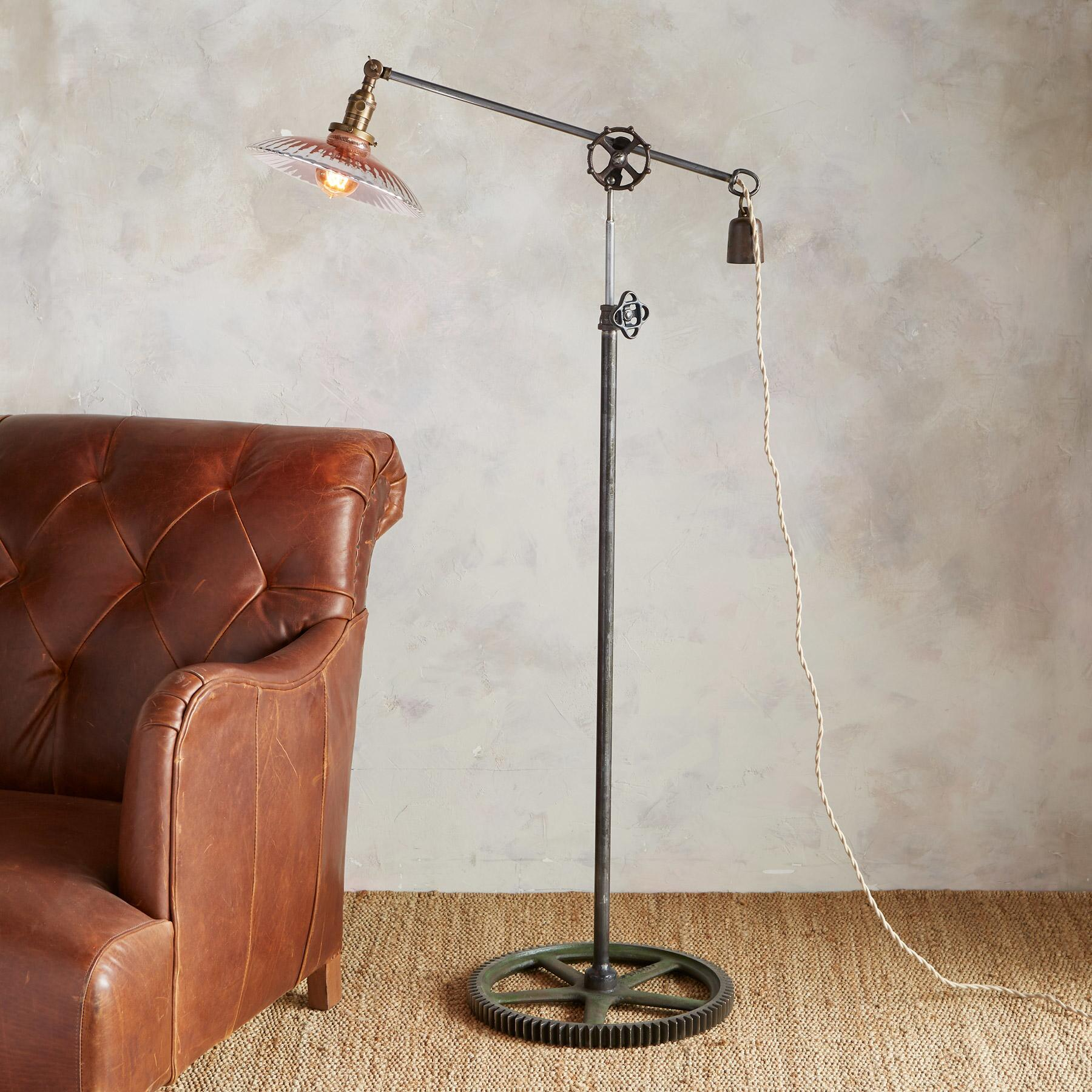 ST. GEORGE FLOOR LAMP BY ROBERT OGDEN: View 1