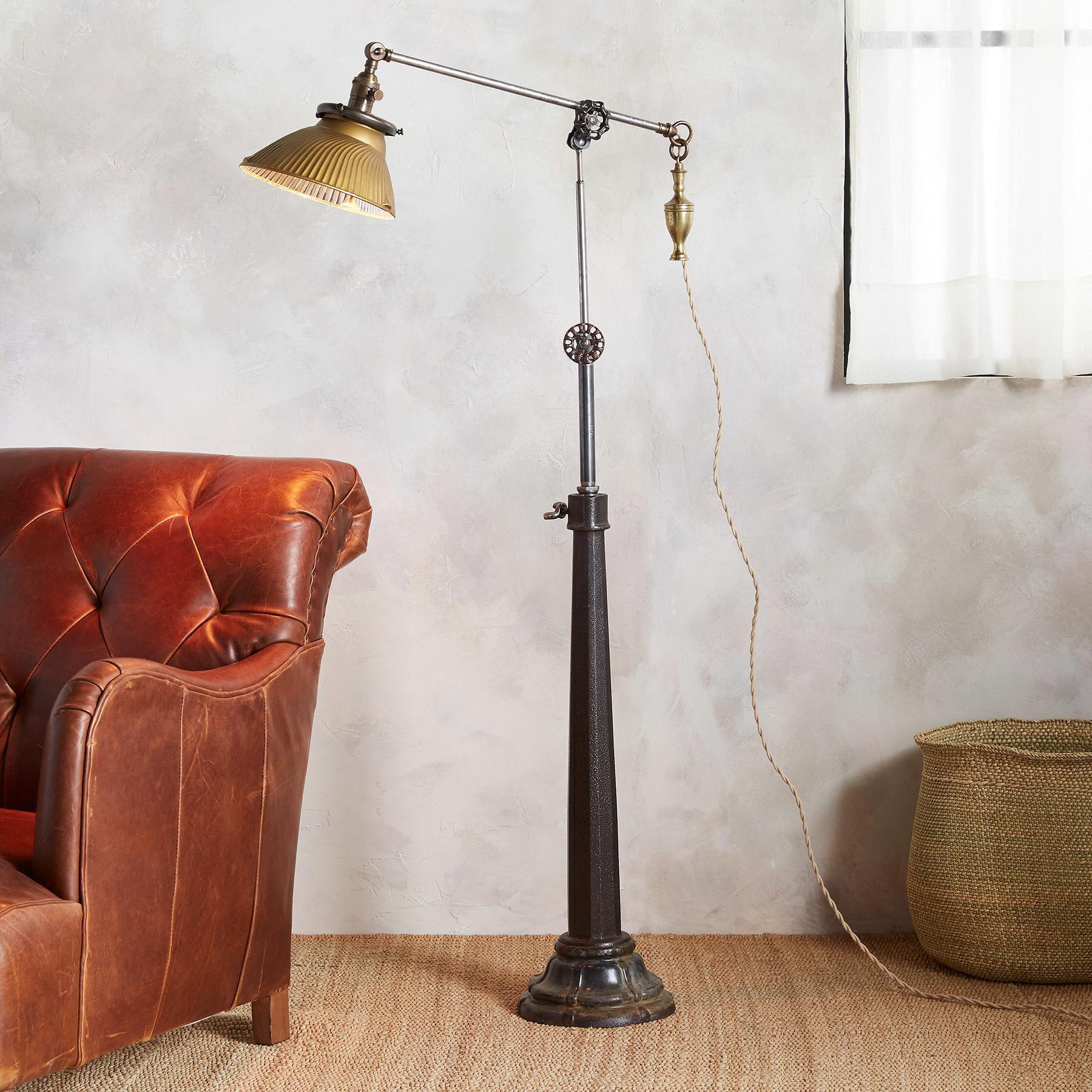 DETROIT FLOOR LAMP: View 1