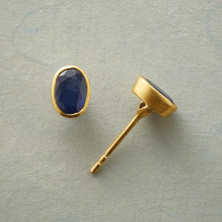 SAPPHIRE ARC EARRINGS