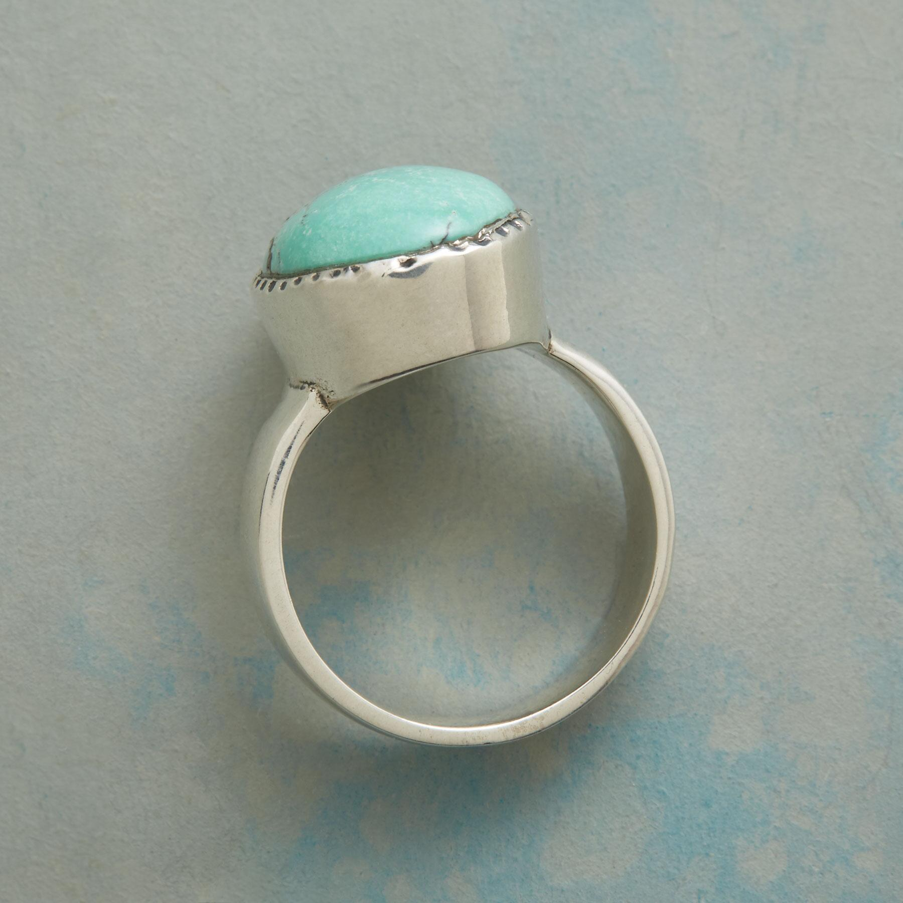 BOLDLY TURQUOISE RING: View 2