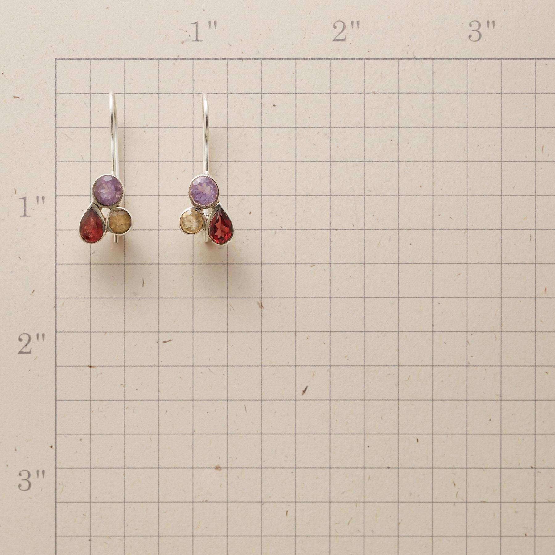 TRIPLE PLAY EARRINGS: View 2