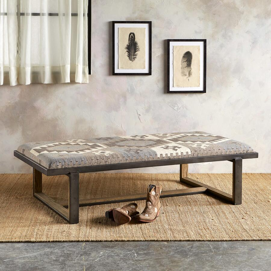 SILVER CREEK KILIM TABLE