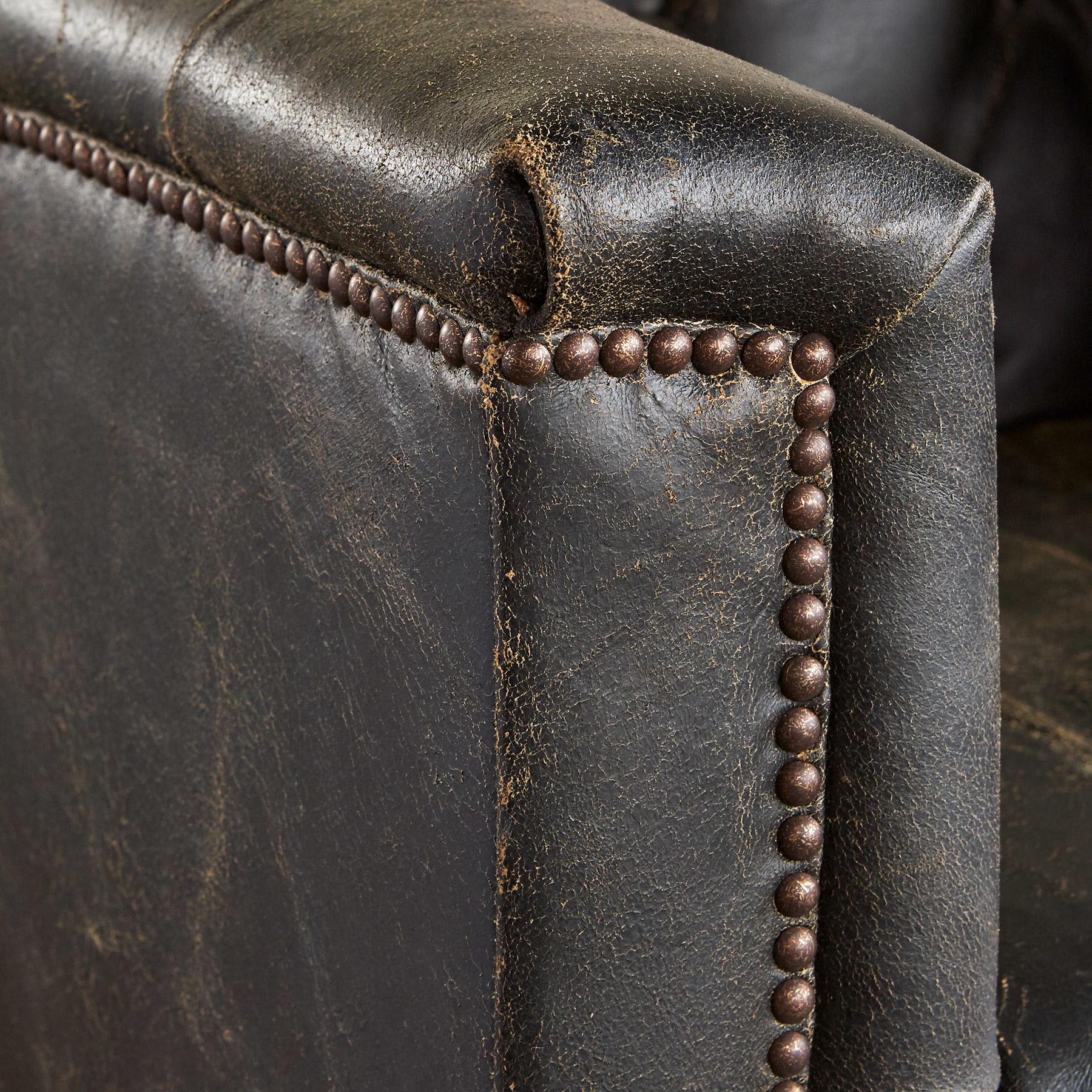 WESTERLY LEATHER CLUB CHAIR: View 3