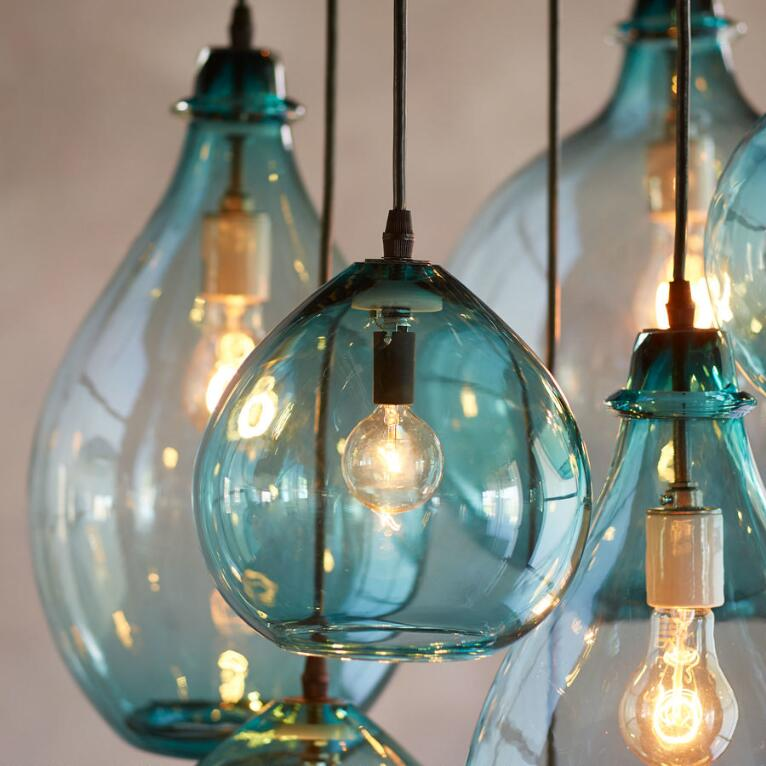 Salon Gl Canopy Pendant Light