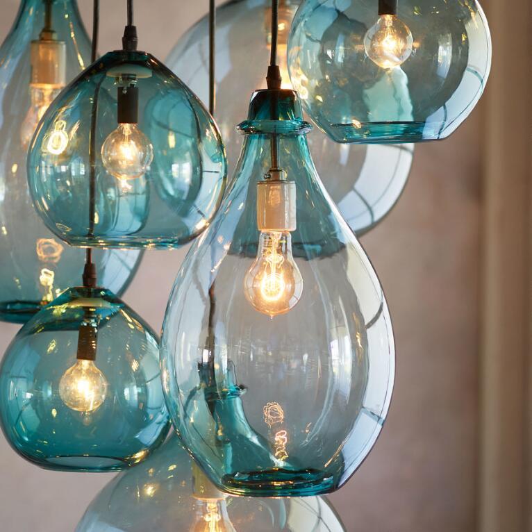 Salon Glass Canopy Pendant Light Robert Redford S