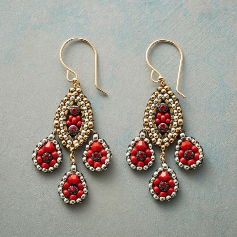 RED ROVER EARRINGS