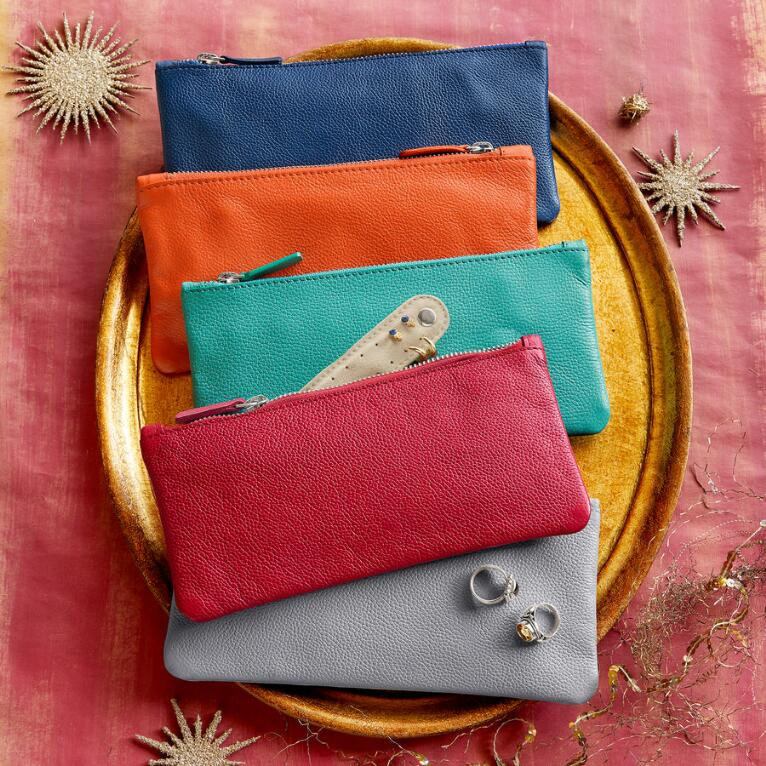 LUXURIOUS JEWELRY POUCH