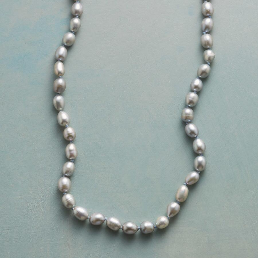 PEARLS AND PINE NECKLACE
