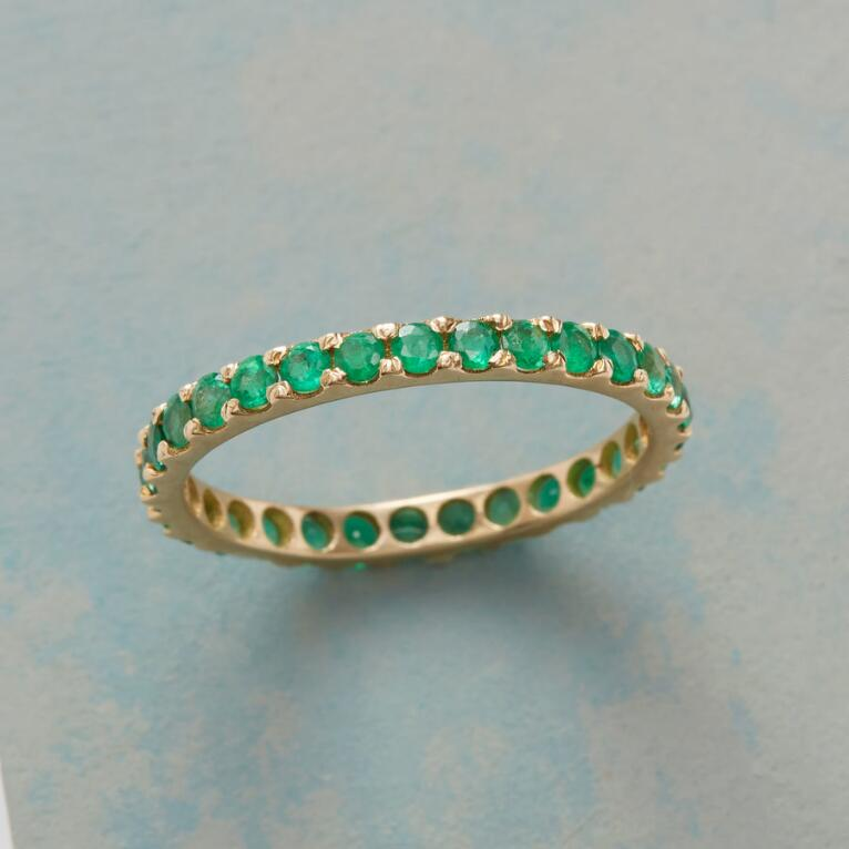 EMERALD INFINITELY YOURS RING
