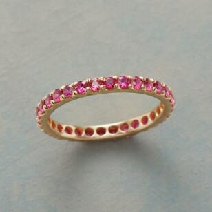 INFINITELY YOURS RUBY RING