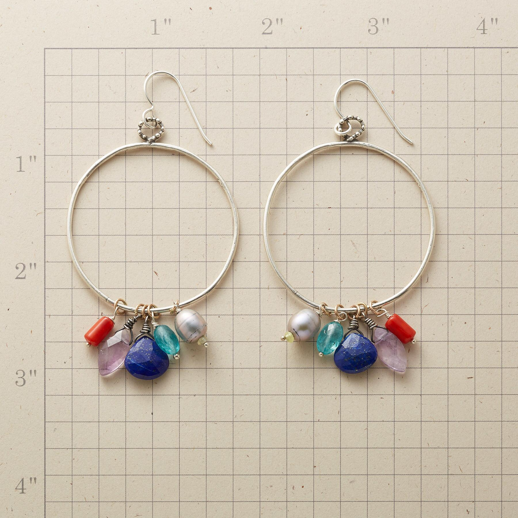 DAY DREAMER HOOP EARRINGS: View 2