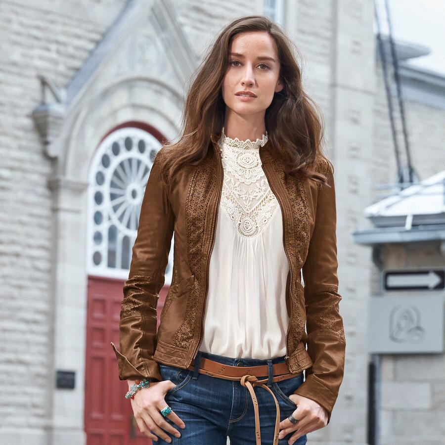 HUTTON LEATHER JACKET