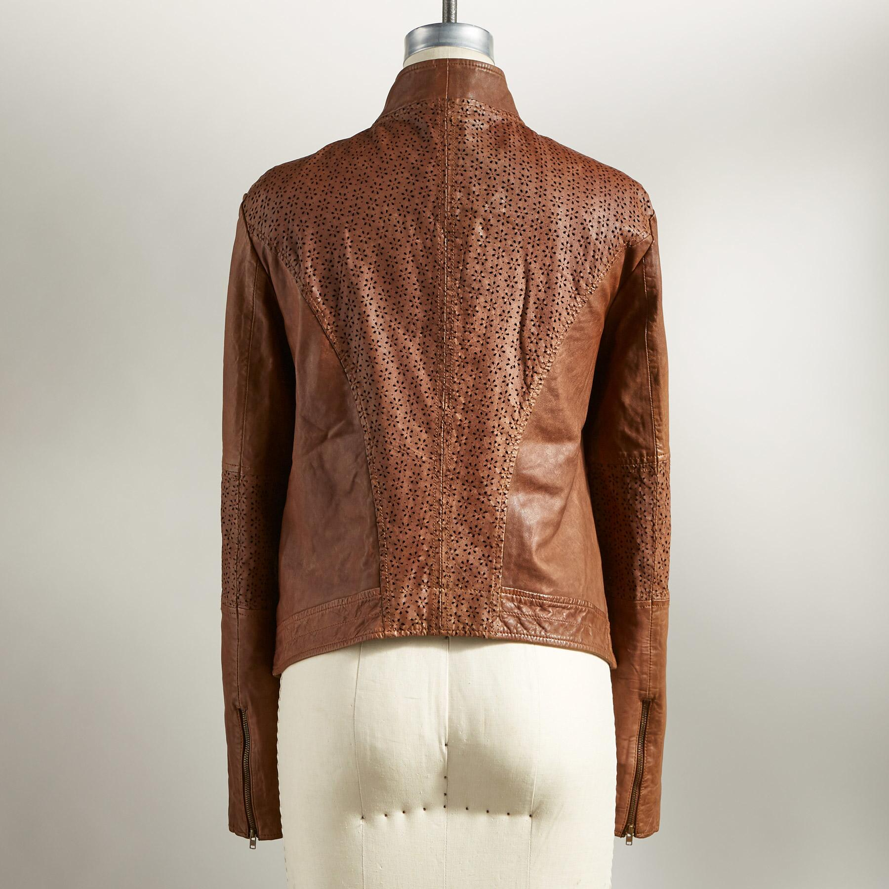 HUTTON LEATHER JACKET: View 2