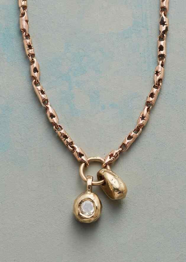 TOUCHSTONE DIAMOND NECKLACE