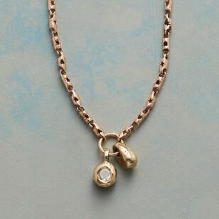 TOUCHSTONE DIAMOND NECKLACE