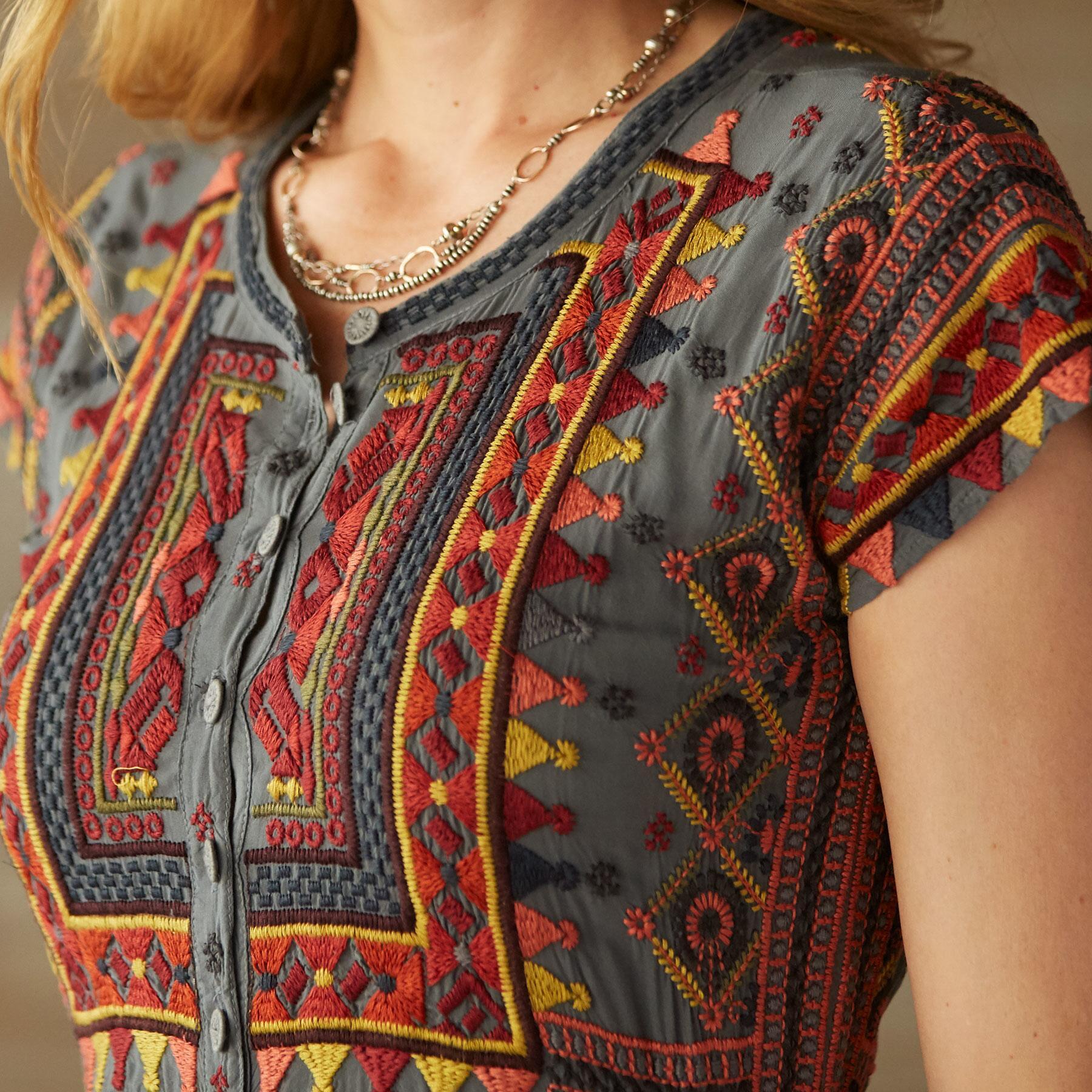 KACHINA DRESS: View 3