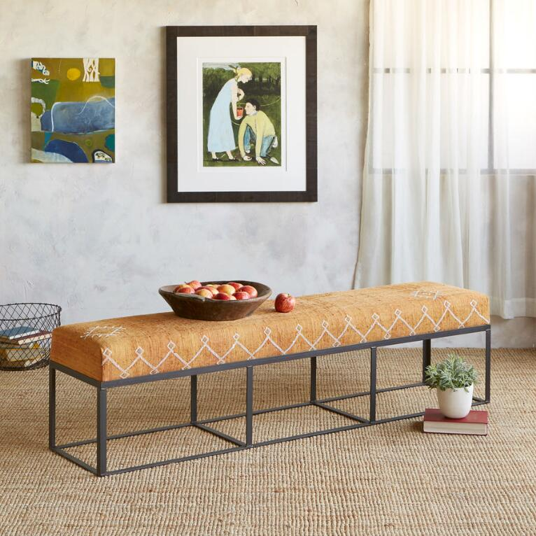 BOULEMANE MOROCCAN BENCH