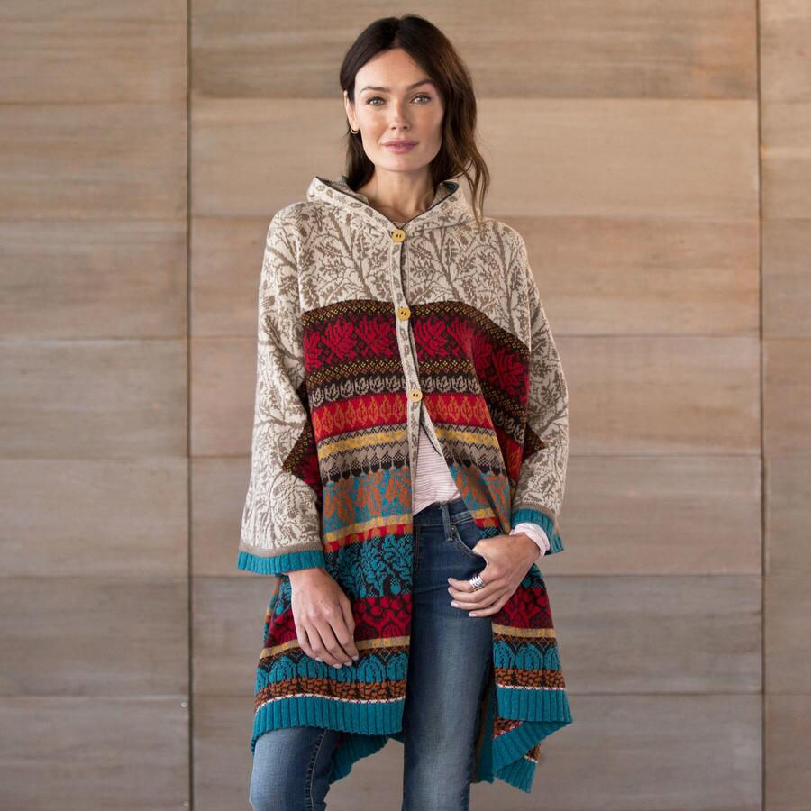 RHINE VALLEY PONCHO