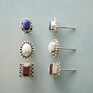THREESCORE EARRING TRIO