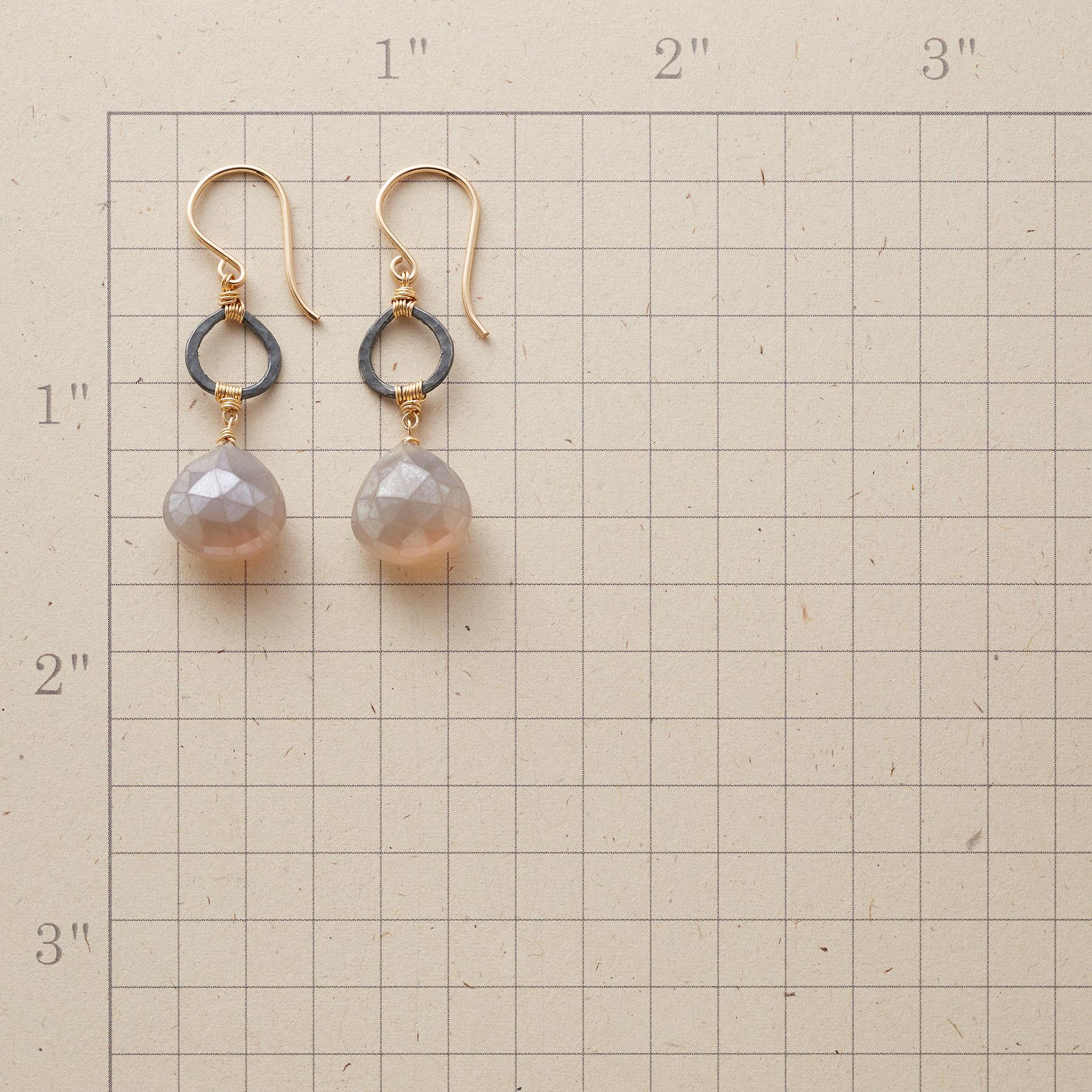 THROUGH THE FOG EARRINGS: View 2