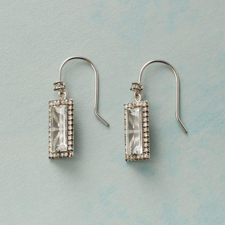 CHAMPAGNE & DIAMONDS EARRINGS