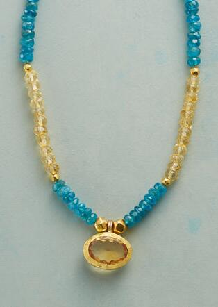SUN AND SHADE NECKLACE