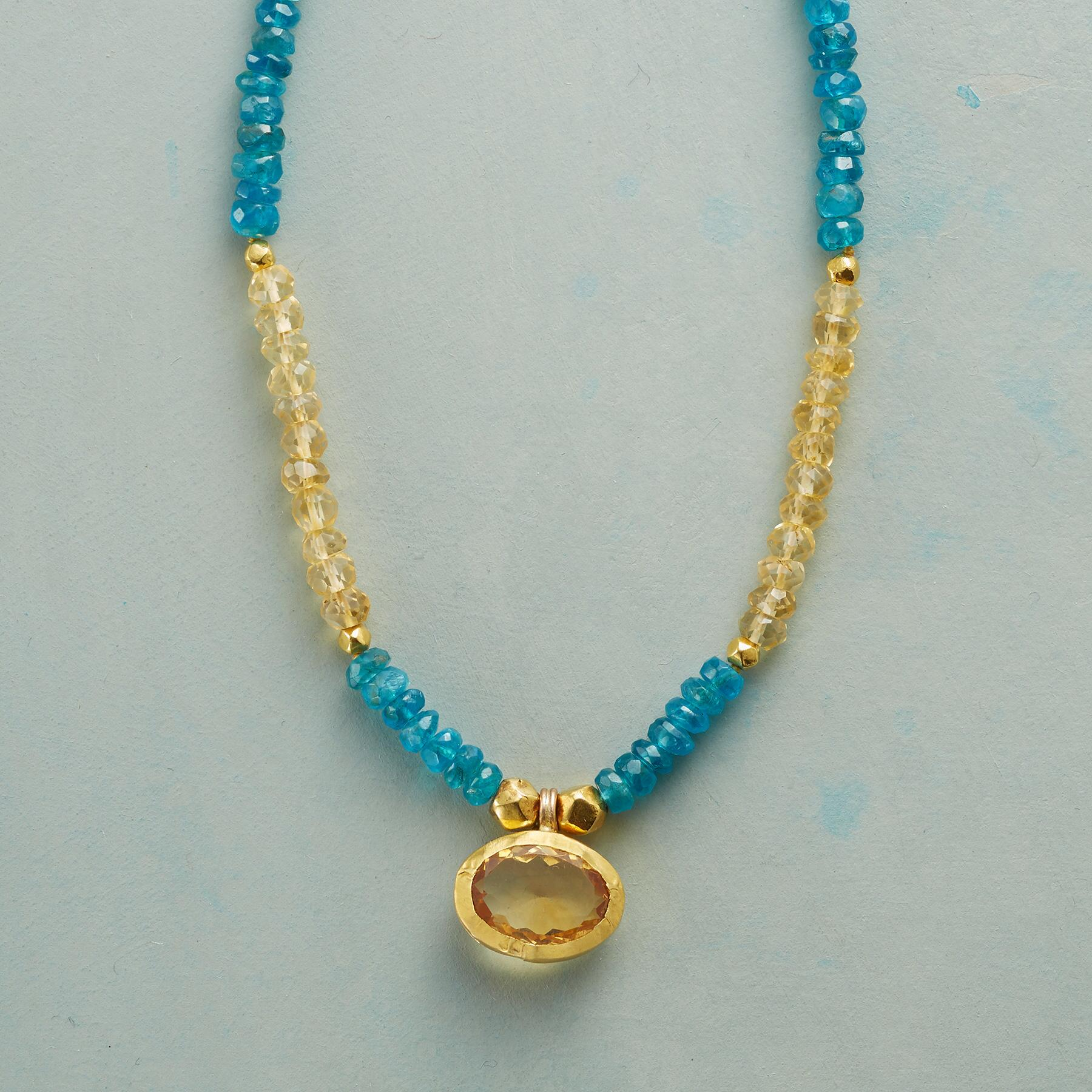 SUN AND SHADE NECKLACE: View 1