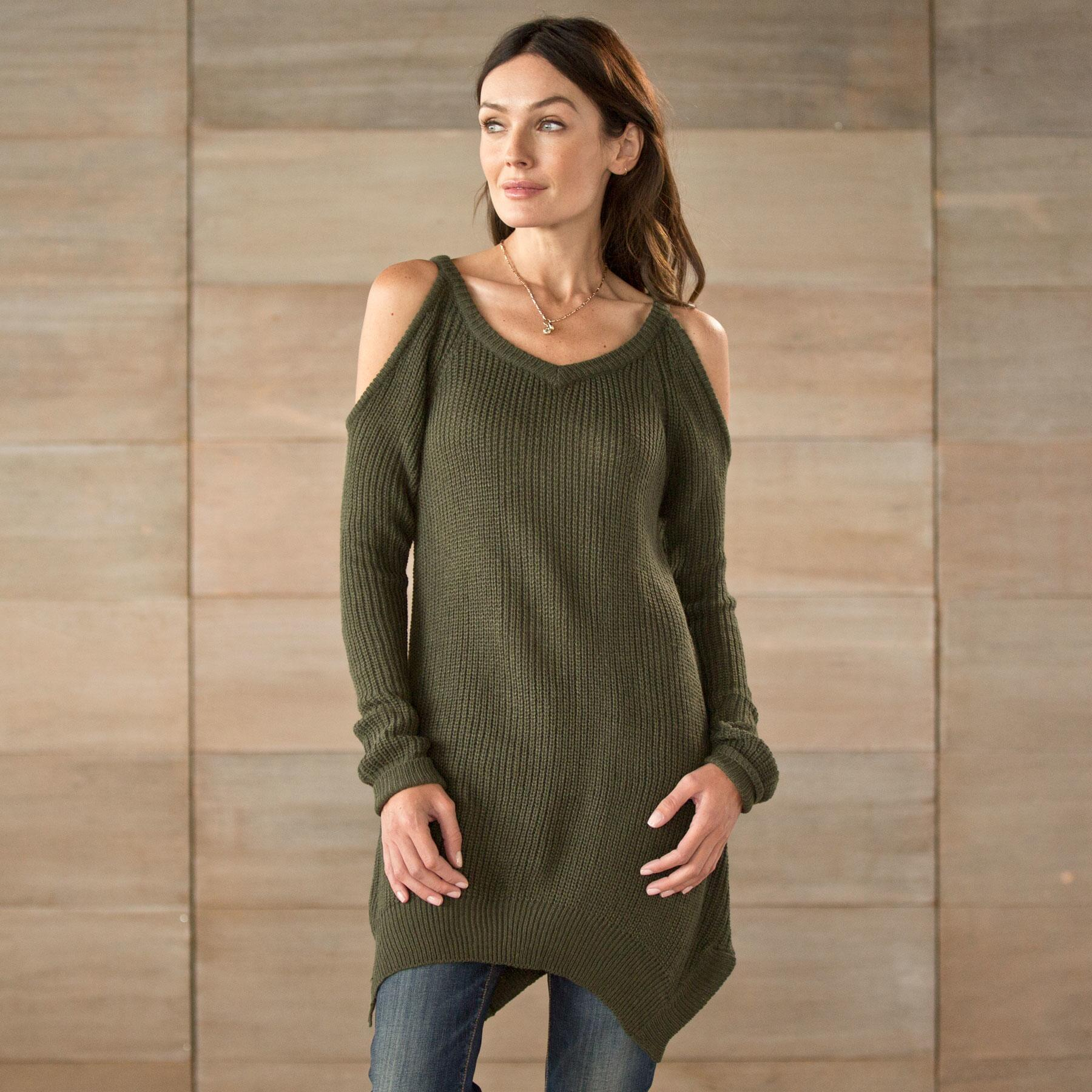 WOODLAND GRACE SWEATER: View 1